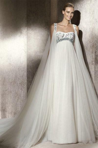 Свадебное платье фото стиль ампир