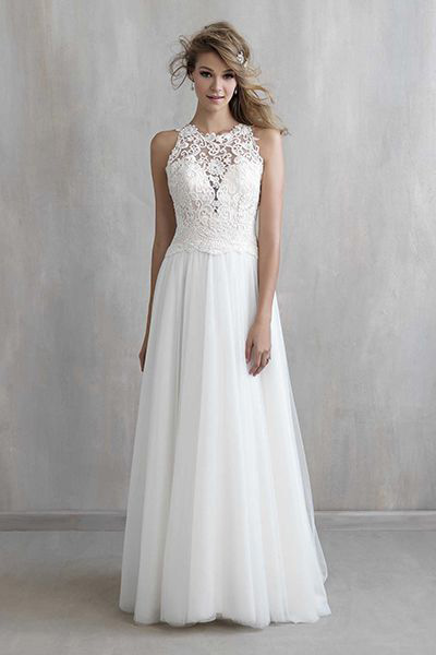 Платья а силуэта свадебные