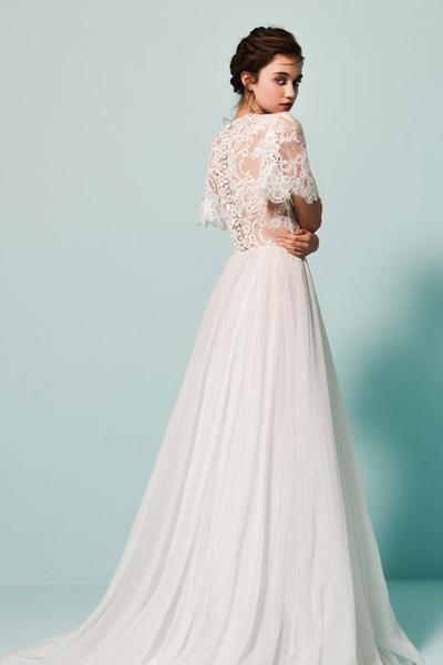 Кружево для свадебного платья