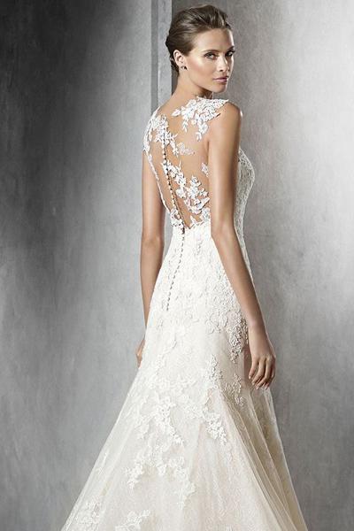 Описание кружева для свадебного платья