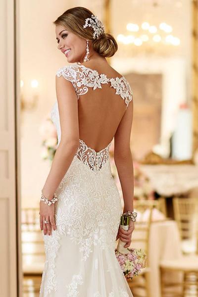 Лучшие платья с открытой спиной