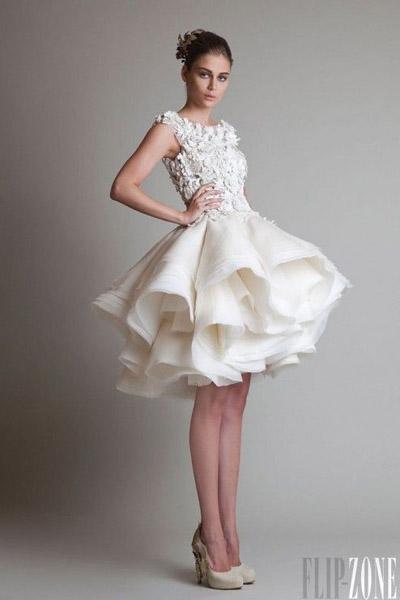 Свадебные платья короткие простые фото