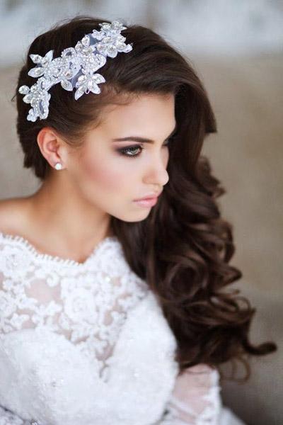 Свадебные прически ретро