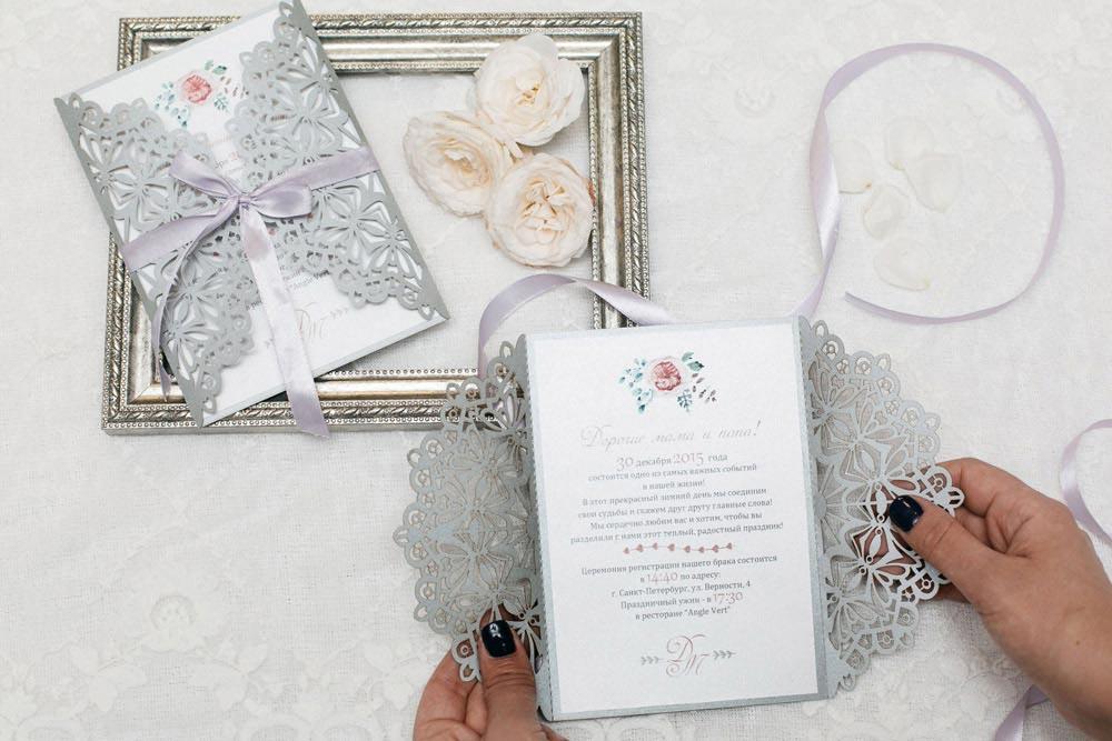 Пригласительные для свадьбы в спб