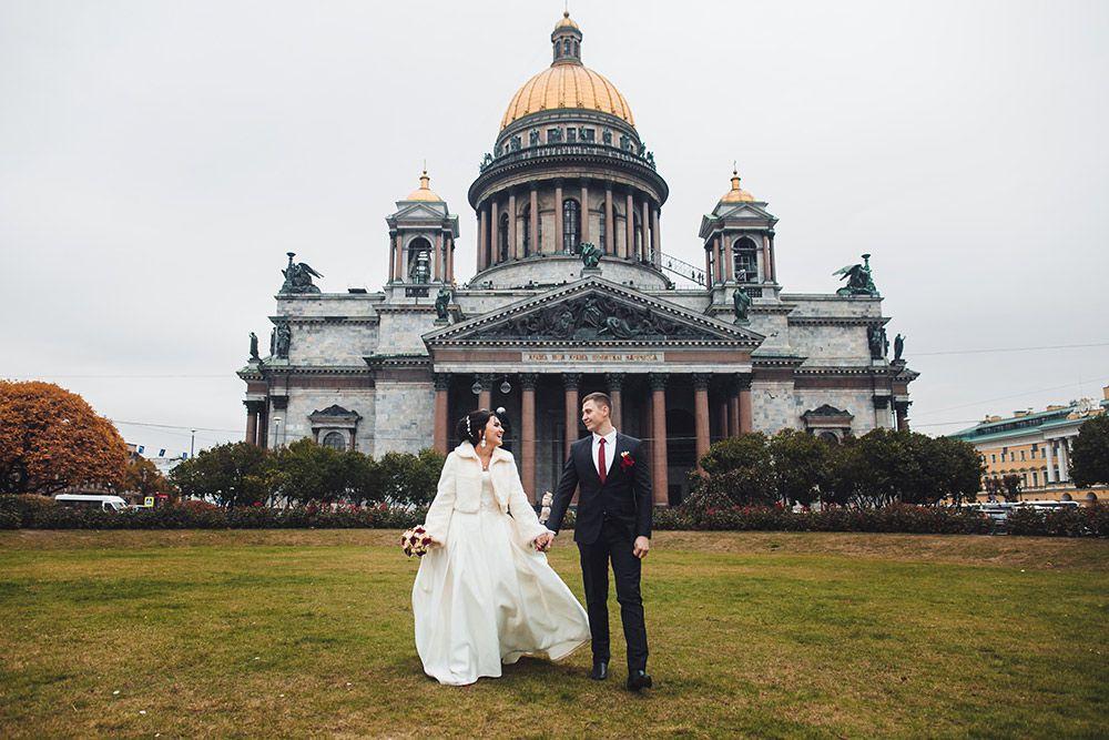 Места для свадебных фотосессий в спб
