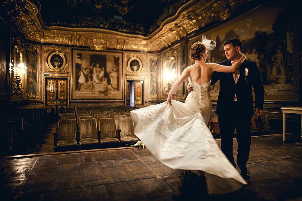Место для свадебной фотосессии