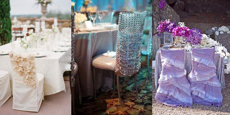 оригинальные украшения к свадьбе