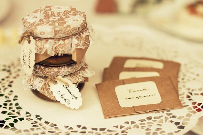 Купить баночки для варенья на свадьбу