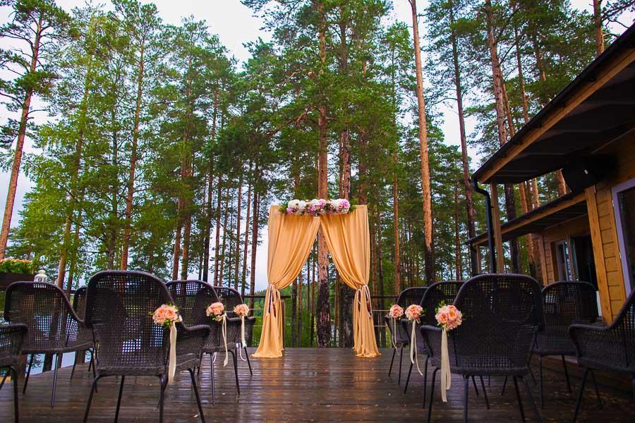 Свадьба спб загородом