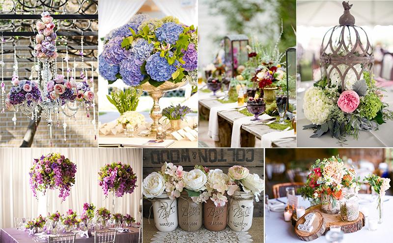 Украшение цветами свадьбы