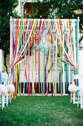 свадьба радужная